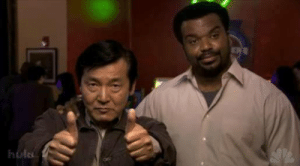 Jackie Chan and Chris Tucker starting production of Rush Hour (1998): Jackie Chan and Chris Tucker starting production of Rush Hour (1998)