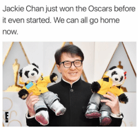 Jackie Chan hasn't been this cool since Rush Hour 3 ERedCarpet Oscars: Jackie Chan just won the Oscars before  it even started. We can all go home  nOW Jackie Chan hasn't been this cool since Rush Hour 3 ERedCarpet Oscars