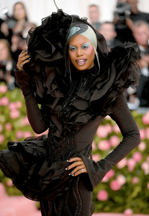 Bitch, Pikachu, and Tumblr: jackisreallycool:  im-pikachu:   The 2019 Met Gala ||   Laverne Cox   See this is wonderful. Dynasty. Power Bitch on wheels. I wish she was holding a Diet Coke