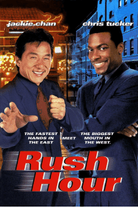 "20-Years-Ago today, the movie ""#RushHour"" was released starring #JackieChan & #ChrisTucker.  What was y'all favorite scene from the movie?! 🎥🍿 #WSHH https://t.co/4SDpBG2oy1: Jackle chan  hris tucker  THE FASTEST  HANDS IN  THE EAST  THE BIGGEST  MEE  T MOUTH IN  THE WEST.  Rush  Hour 20-Years-Ago today, the movie ""#RushHour"" was released starring #JackieChan & #ChrisTucker.  What was y'all favorite scene from the movie?! 🎥🍿 #WSHH https://t.co/4SDpBG2oy1"
