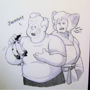 superiordutchsauce:  Inktober 2019 Day 31: JACKPOT!  ANDY,  THROW TRAT  AWAY  ZAWA  Ro superiordutchsauce:  Inktober 2019 Day 31