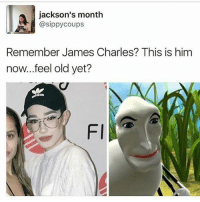Thanks a ton for 70k I never thought I would hit 10k much less 70. I hit 25k at around new years which means 45k of you guys have followed since then and that's crazy to me: jackson's month  @sippy coups  Remember James Charles? This is him  now...feel old yet?  Fl Thanks a ton for 70k I never thought I would hit 10k much less 70. I hit 25k at around new years which means 45k of you guys have followed since then and that's crazy to me