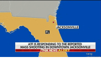 "BREAKING NEWS: Police are responding to a ""mass shooting"" at a popular area in downtown Jacksonville, Fla., filled with bars and restaurants.: JACKSONVILLE  FL  ATF IS RESPONDING TO THE REPORTED  MASS SHOOTING IN DOWNTOWN JACKSONVILLE  FOX NEWS ALERT  bing  918 M BREAKING NEWS: Police are responding to a ""mass shooting"" at a popular area in downtown Jacksonville, Fla., filled with bars and restaurants."
