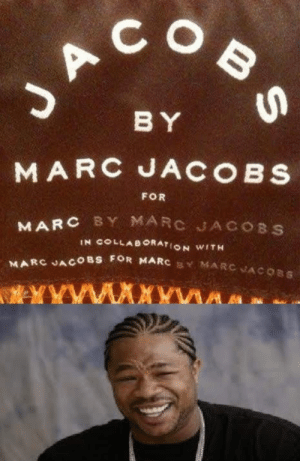 Marc Jacobs.: JACOB S  BY  MARC JACOBS  FOR  MARC BY MARC JACOBS  IN COLLAB ORATION WITH  MARC JACOBS FOR MARC MARCVACOBS  YYW  wwA Marc Jacobs.