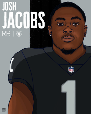Memes, Nfl, and Oakland Raiders: JACOBS  RBI  NFL  NFL Welcome to the Oakland @Raiders, @iAM_JoshJacobs! #RaiderNation  #NFLDraft https://t.co/Syv8CdNfEC