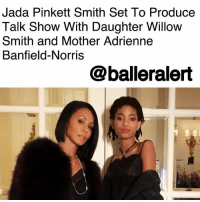 Complex, Facebook, and Jada Pinkett Smith: Jada Pinkett Smith Set To Produce  Talk Show With Daughter Willow  Smith and Mother Adrienne  Banfield-Norris  @balleralert Jada Pinkett Smith Set To Produce And Star In New Facebook Talk Show - blogged by @lanaladonna ⠀⠀⠀⠀⠀⠀⠀ ⠀⠀⠀⠀⠀⠀⠀ It has been recently reported that JadaPinkettSmith signed a deal with Facebook to produce a new talk show. According to Complex, the talk show will focus on current social and cultural issues from a variety of generational perspectives. ⠀⠀⠀⠀⠀⠀⠀ ⠀⠀⠀⠀⠀⠀⠀ How so? Well, joining Mrs. Pinkett Smith will be her daughter WillowSmith, as well as Jada's own mother, Mrs. Adrienne Banfield-Norris. ⠀⠀⠀⠀⠀⠀⠀ ⠀⠀⠀⠀⠀⠀⠀ Not too many details have been given about the project. Some do though believe that Pinkett will share more details at this year's Sundance Film Festival, where she'll be participating as a judge. ⠀⠀⠀⠀⠀⠀⠀ ⠀⠀⠀⠀⠀⠀⠀ The date for the premiere of the show has yet to be released. ⠀⠀⠀⠀⠀⠀⠀ ⠀⠀⠀⠀⠀⠀⠀ Who's here for it?