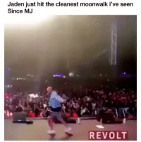 Memes, Jaden, and 🤖: Jaden just hit the cleanest moonwalk i've seen  Since MJ  REVOLT That was clean 🔥 Credit: @revolttv - @c.syresmith