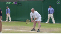 Advice, Funny, and Wimbledon: JAE /MAR  AE/MAR 0  CLI / STU  4 o  11,40  老 A Male Fan Gets Invited To Play With The ladies after He Yells Advice from Stands at Wimbledon