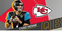 Now backing up @PatrickMahomes5 in Kansas City: https://t.co/zlCao40OSm https://t.co/RqTmsZZBMp: JAGS  CHAD HENNE ( )) | D Now backing up @PatrickMahomes5 in Kansas City: https://t.co/zlCao40OSm https://t.co/RqTmsZZBMp