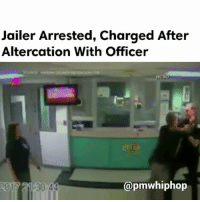Following an altercation between a HardinCounty Detention Center employee and a sheriff's deputy, the detention center employee was arrested and suspended with pay. - FULL VIDEO & STORY AT PMWHIPHOP.COM LINK IN BIO: Jailer Arrested, Charged After  Altercation With Officer  Capmwhiphop  2017 21 30 44 Following an altercation between a HardinCounty Detention Center employee and a sheriff's deputy, the detention center employee was arrested and suspended with pay. - FULL VIDEO & STORY AT PMWHIPHOP.COM LINK IN BIO