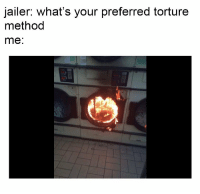 Torture, Whats, and Your: jailer: what's your preferred torture  method  me: https://t.co/gPgoxapzP7