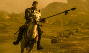 Jaime Lannister, Good, and Show: Jaime Lannister charging Drogon was the last good scene of the show
