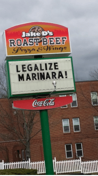 JakeD's  ROAST BEEF  LEGALIZE  MARINARA! <p>Tackle the Issues That Really Matter</p>