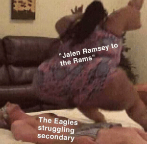 """Philadelphia Eagles, Nfl, and Rams: """"Jalen Ramsey to  the Rams""""  The Eagles  struggling  secondary How it feels to be an eagles fan right now"""