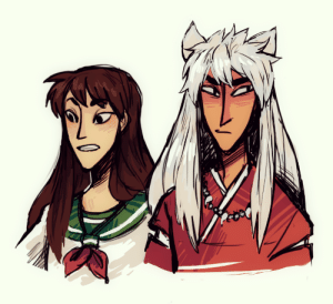 jam-art: inuyasha doodle-boo i should rewatch this anime : jam-art: inuyasha doodle-boo i should rewatch this anime