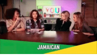 She went full retard on that accent: JAMAICAN She went full retard on that accent