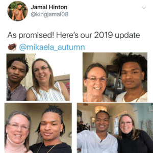 The best Thanksgiving tradition: Jamal Hinton  @kingjamal08  As promised! Here's our 2019 update  @mikaela_autumn The best Thanksgiving tradition