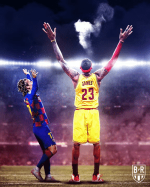 Antoine Griezmann did the LeBron James chalk toss after scoring twice in his Barca home debut 🔴🔵 X 👑  (via Bleacher Report Football): JAMES  23  BR  FOOTBALL Antoine Griezmann did the LeBron James chalk toss after scoring twice in his Barca home debut 🔴🔵 X 👑  (via Bleacher Report Football)