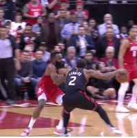 James Harden, Games, and James: James Harden closing out games on defense, shuts down Kawhi.