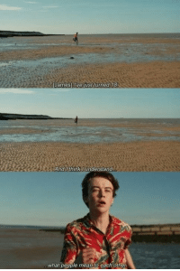 Mean, World, and James: James) Uive just turned 18  And I think Iunderstand  what people mean to each other @The End Of The F***ing World
