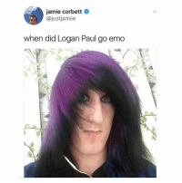 JAKE PAUL'S song was fucking lame b can't believe some people actually like it -mostly 10 year olds. Logan's song is probably trash too sorry not sorry: jamie corbett  @justjamiie  when did Logan Paul go emo JAKE PAUL'S song was fucking lame b can't believe some people actually like it -mostly 10 year olds. Logan's song is probably trash too sorry not sorry