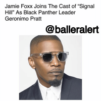 "Crime, Family, and Jamie Foxx: Jamie Foxx Joins The Cast of ""Signal  Hill"" As Black Panther Leader  Geronimo Pratt  @balleralert Jamie Foxx Joins The Cast of ""Signal Hill"" As Black Panther Leader Geronimo Pratt – blogged by @MsJennyb ⠀⠀⠀⠀⠀⠀⠀ ⠀⠀⠀⠀⠀⠀⠀ The triple-threat, actor, singer, and comedian JamieFoxx has officially joined the cast of ""Signal Hill,"" a film about Johnnie Cochran's determination to seek justice in the policy brutality case in 1981. ⠀⠀⠀⠀⠀⠀⠀ ⠀⠀⠀⠀⠀⠀⠀ According to Deadline, Foxx will be joining the likes of Anthony Mackie, Elizabeth Banks and more to tackle the moving story. Mackie will play Cochran, who rose to fame as a legal powerhouse in the case. Banks has signed on as Mary Neiswender, an investigative newspaper reporter for the Long Beach Press-Telegram, who investigated the Signal Hill case. ⠀⠀⠀⠀⠀⠀⠀ ⠀⠀⠀⠀⠀⠀⠀ As for Foxx, the actor will be teaming up with Taylor Hackford, the man behind ""Ray"" for which Foxx won the Best Actor Oscar. In ""Signal Hill,"" Foxx will play Elmer ""Geronimo"" Pratt, the former Black Panther party leader that was sent to prison for more than two decades for a crime that he didn't commit. ⠀⠀⠀⠀⠀⠀⠀ ⠀⠀⠀⠀⠀⠀⠀ Written by David McMillan, the film centers on the case of Cal State Long Beach star Ron Settles, who had been booked for speeding in L.A. County. However after his arrest, Settles was found hanged in his cell, uncovering a slew of police misconduct and brutality. With Cochran's legal expertise, the family was awarded hundreds of thousands of dollars in a civil suit after an autopsy showed Settles was choked to death."
