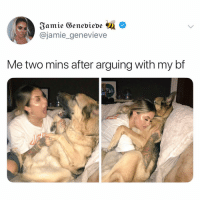 Hungry, Memes, and 🤖: @jamie_genevieve  Me two mins after arguing with my bf i was hungry