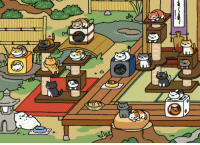 Cats, Target, and Tumblr: janebtrox:  SOMEONE IN NEKO ATSUME REACHED 23 CATS! TEACH ME YOUR WAYS.   TEACH ME TOO
