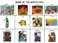 """Me_irl: JANUARY  MAY  SEPTEMBER  MEME OF THE MONTH 2016  FEBRUARY  MARCH  JULY  JUNE  OCTOBER  NOVEMBER  APRIL  AUGUST  DECEMBER  Phillip """"the Mail  Reik  Jingle  AllTheWay Me_irl"""