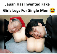 girls legs: Japan Has Invented Fake  Girls Legs For Single Men