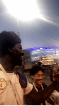 "Anime, Memes, and One Piece: Japanese and Senegalese fans sing ""We Are!"" (The theme song of famous Japanese Anime, One Piece) together after dramatic 2-2 draw (🎥: @JohnSulo )  https://t.co/9VGjLbjSPw"