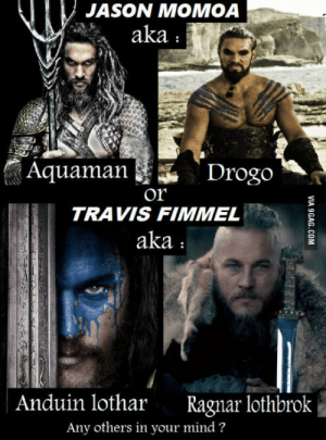 Who would you recommend to be Kratos in a God of War movie?: JASON MOMOA  aka  Aquaman  Drogo  Or  TRAVIS FIMMEL  aka  Anduin lothar Ragnar lothbrok  Any others in your mind? Who would you recommend to be Kratos in a God of War movie?