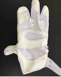 Jason Pierre-Paul, who suffered a gruesome hand injury after fireworks accident in July, is trying out different gloves that he will use in games. (via Dan Graziano-Twitter): Jason Pierre-Paul, who suffered a gruesome hand injury after fireworks accident in July, is trying out different gloves that he will use in games. (via Dan Graziano-Twitter)