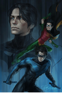 league-of-extraordinarycomics:  Dick Grayson by Jasric: JASRICart league-of-extraordinarycomics:  Dick Grayson by Jasric
