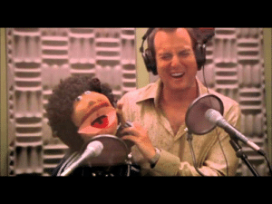 Jay-Z and Eminem in the studio recording the hit single Renegade (2001): Jay-Z and Eminem in the studio recording the hit single Renegade (2001)