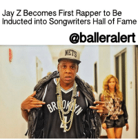 "Jay Z, Memes, and Cbs: Jay Z Becomes First Rapper to Be  Inducted into Songwriters Hall of Fame  @ball eralert  NETS Jay Z Becomes First Rapper to Be Inducted into Songwriters Hall of Fame - blogged by: @msjennyb ⠀⠀⠀⠀⠀⠀⠀⠀⠀ ⠀⠀⠀⠀⠀⠀⠀⠀⠀ On Wednesday, the 2017 inductees for the Songwriters Hall of Fame were announced, revealing a historic accomplishment for the hip-hop community. ⠀⠀⠀⠀⠀⠀⠀⠀⠀ ⠀⠀⠀⠀⠀⠀⠀⠀⠀ Hip-hop icon, business-man and music mogul, JayZ, will be the first rapper to be awarded with the prestigious honor. Among the living legend are several big-name musical geniuses who will also be inducted into this year's Songwriters Hall of Fame, including Kenneth "" Babyface"" Edmonds, MaxMartin, BerryGordy, JimmyJam and RobertLamm, JamesPankow and PeterCetera of Chicago. ⠀⠀⠀⠀⠀⠀⠀⠀⠀ ⠀⠀⠀⠀⠀⠀⠀⠀⠀ Chic guitarist Nile Rodgers announced the 2017 inductees on CBS This Morning, providing a few words of the 21-time Grammy winner's historic induction. He revealed that Jay Z's ties to hip hop initially left the more traditional voters with reservations. ⠀⠀⠀⠀⠀⠀⠀⠀⠀ ⠀⠀⠀⠀⠀⠀⠀⠀⠀ Rodgers says that Jay Z ""was in a space where, even though he's had more pop albums than anyone else, because he did it through rap,"" the voters were initially skeptical about considering him for the honor, so it took a little longer to convince them. Still, according to Rodgers, ""It's massive. He has changed the way that we listen to music. He's changed the way we have fun."" ⠀⠀⠀⠀⠀⠀⠀⠀⠀ ⠀⠀⠀⠀⠀⠀⠀⠀⠀ ""With our 2017 roster of inductees, the Songwriters Hall of Fame moves definitively into recognizing music creators of the 21st century while continuing to honor the greats of earlier decades. The combination of contemporary sounds and timeless hits of the past is certain to make for an unforgettable evening,""said Hall co-chairs Kenneth Gamble and Leon Huff and President Linda Moran. ""The songwriters we honor cross genre, regional and even national boundaries – R & B, Rap, Pop and Rock & Roll from both coasts, the American heartland and Sweden. We are thrilled to once more have the opportunity to preside over an event that recognizes the convergence of song craft and musical performance at the very highest level."""