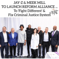 Jay Z, Meek Mill, Owner of Patriots 'Robert Kraft, Co-Owner of 76ers 'Michael Rubin', Co-Owner of The Nets 'Clara Wu Tsai, and other powerful individuals have teamed up to launch Reform Alliance.⁣ -⁣ The Reform Alliance will focus on criminal justice reform and will fight to get at-least one million people out of incarceration in a span of 5 years with a focus on probation and parole.⁣ -⁣ The group has put together $50 million altogether to get this alliance started. ⁣ -⁣ RapTVSTAFF: @thatkidcm⁣ 📸 @reform⁣: JAY-Z& MEEK MILL  TO LAUNCH REFORM ALLIANCE  To Fight Different' &  Fix Criminal Justice System Jay Z, Meek Mill, Owner of Patriots 'Robert Kraft, Co-Owner of 76ers 'Michael Rubin', Co-Owner of The Nets 'Clara Wu Tsai, and other powerful individuals have teamed up to launch Reform Alliance.⁣ -⁣ The Reform Alliance will focus on criminal justice reform and will fight to get at-least one million people out of incarceration in a span of 5 years with a focus on probation and parole.⁣ -⁣ The group has put together $50 million altogether to get this alliance started. ⁣ -⁣ RapTVSTAFF: @thatkidcm⁣ 📸 @reform⁣