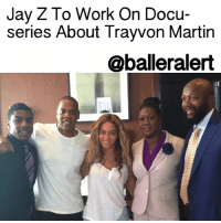 """Memes, 🤖, and Powers: Jay Z To Work On Docu-  series About Trayvon Martin  @baller alert Jay Z To Work On Docu-series About Trayvon Martin - blogged by: @eleven8 ⠀⠀⠀⠀⠀⠀⠀⠀⠀ ⠀⠀⠀⠀⠀⠀⠀⠀⠀ JayZ opened the eyes of many when he tackled the story of KaliefBrowder. Now, Jay Z and WeinsteinFilms are taking on the untold story of TrayvonMartin. ⠀⠀⠀⠀⠀⠀⠀⠀⠀ ⠀⠀⠀⠀⠀⠀⠀⠀⠀ Martin was fatally shot by neighborhood watch volunteer, GeorgeZimmerman, in February 2012. He was 17 years old. His death, and Zimmerman's acquittal, sparked a movement within the black community. ⠀⠀⠀⠀⠀⠀⠀⠀⠀ ⠀⠀⠀⠀⠀⠀⠀⠀⠀ Like """"TIME: The Kalief Browder Story,"""" which airs Wednesday nights on SpikeTV, Jay Z is working on a 6-part series about Trayvon. After winning a heated bidding war for the rights of two books, """"Suspicion Nation: The Inside Story of the Trayvon Martin Injustice and Why We Continue to Repeat It"""" and """"Rest in Power: The Enduring Life of Trayvon Martin,"""" Trayvon's story will finally come to the small screen. ⠀⠀⠀⠀⠀⠀⠀⠀⠀ ⠀⠀⠀⠀⠀⠀⠀⠀⠀ """"Suspicion Nation"""" was written by Lisa Bloom, who documents her experience covering the Zimmerman trial for NBC. Trayvon's parents, SybrinaFulton and TracyMartin, wrote """"Rest in Power,"""" a more personal story about Trayvon's childhood and the aftermath of his death. ⠀⠀⠀⠀⠀⠀⠀⠀⠀ ⠀⠀⠀⠀⠀⠀⠀⠀⠀ The Weinstein Company, who Jay Z partnered with in September, is known for their work on the highly acclaimed film, FruitvaleStation."""