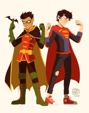 jayceart:  Just two kids fighting crime : jayceart:  Just two kids fighting crime