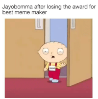 Yall are hilarious I love my fans: Jayobomma after losing the award for  best meme maker Yall are hilarious I love my fans