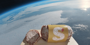 jdlaclede: baylen:  space-pics: Space Salami - The first ever salami launched to space, Italy 4 October 2018 [1600x800]  history has been made boys  : jdlaclede: baylen:  space-pics: Space Salami - The first ever salami launched to space, Italy 4 October 2018 [1600x800]  history has been made boys