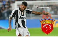 Memes, Jeep, and Juventus: Jeep  TRANSFER TALK  AIP G FC Juventus defender Dani Alves has been offered a weekly £160,000 contract to join Shanghai SIPG in the Chinese Super League.