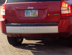 Jeep: Jeep  WHO CARE  LIMITED