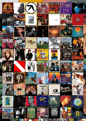 Love, Metallica, and Michael Jackson: JEFF DECK WIRED  (A  sade love deluxe  Donald Fagen The Nightfly  QUEEN SHEER  HEART  ATTACK  The BEATLES  KKAST  wertenm eove dow  THE CAR S  BORNTHISWAY  Dio  a1a  TARKUS  DEEP PURPUE  MACHINE NEAD  CURTIS MAYFIELD  PEPRL JAM  per  REVOLVER  Sugamne  METALLICA  TOM PETTY  GO endixeeetence  BAT  Voga  sohtule  Dles  FULL MOON  FEVER  stomdne  LOAD  VAN HALEN  Wearher Report  BOB DYLAN HIGHWAY 61 REVISITED  AEEN,GREER BRASS OF Hhome  PLANET WAVES  AC-DC  DIVER DOWN  ECCA  &NTANA  LITTLE FEAT  DIXIE CHICKEN  peodigy  POLCE  zNYAtHA MDATHA  moonELOWER  Pavid Bawre  Simos  Gaduma  noge  Troubled  Water  RANSUOE RSS  MINGUS  Franz  BLACH  AND THE  SINNER  Ferdinand  S suau  ROLLING STOTE ATTOO YOU  seelydan  Gaucho  Huthaind  Jamiroquai  CAN  SHAKEDOUN STREET  ELVISE  BLUE  EGE BAMYAST  ORASCHOTEN  Watking Heart Attack  MICHAEL JACKSON Topsters of Araki's favorite albums based on the references in JoJo