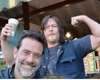 Memes, Norman Reedus, and 🤖: Jeffery Dean Morgan and Norman Reedus ! ~kathy