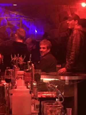 Jeffrey Epstein alive and at the bar I was at...: Jeffrey Epstein alive and at the bar I was at...
