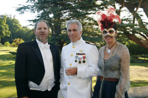 Jeffrey Epstein, Ghislaine Maxwell and Harvey Weinstein at Princess Beatrice's Windsor Castle party: Jeffrey Epstein, Ghislaine Maxwell and Harvey Weinstein at Princess Beatrice's Windsor Castle party