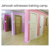Jehovah witnesses training camp. training camp