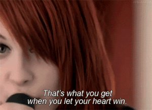 https://iglovequotes.net/: JEN ATALA  That's what you get  when you let your heart win. https://iglovequotes.net/