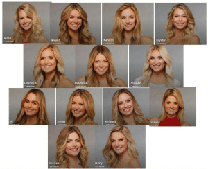 bjornkram:  marsincharge:Please look at the contestants for the upcoming season of The Bachelor and laugh with me. I merged all their faces together, I'm naming her ultra-Lauren.: Jenna  Jessica  Kendall  Krystal  Maquel  Contestant  Lauren B  Lauren S  Contesto ↑  Ali  Amber  Annaliese  Lauren J  Chelsea  Jenny bjornkram:  marsincharge:Please look at the contestants for the upcoming season of The Bachelor and laugh with me. I merged all their faces together, I'm naming her ultra-Lauren.